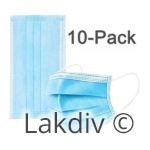 10 Pack Disposable Face Mask with Earloop-ID-4018