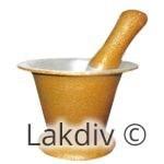 Mortar & Pestle Gold (Wangedi) 3Kg – 3139